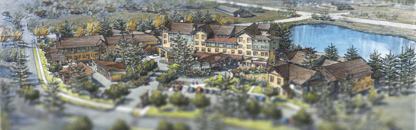 Casey's Pond senior living project, Steamboat Springs, Colorado