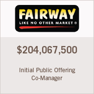 Co-Manager IPO - Fairway